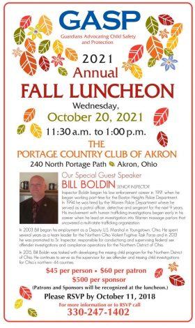 gasp-annual-fall-luncheon-2021-flyer